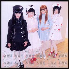 Menhera, sickly girl Lolita fashion Inspiration