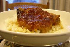 Slow Cooker Chili Pork Chops - Get Crocked Slow Cooker Recipes from Jenn Bare for Busy Families Slow Cooker Chili, Slow Cooker Recipes, Crockpot Recipes, Cooking Recipes, Crockpot Dishes, Slow Cooking, Cooking Stuff, Chops Recipe, Pork Chop Recipes