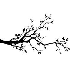 Love Birds On A Branch Wall Stickers / Wall Decals Bird On Branch, Bird Tree, Branch Art, Bird Silhouette, Silhouette Portrait, Wall Stickers, Wall Decals, Ambiance Sticker, Bird Applique