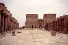 Isis Temple of Philae 370 BC in Aswan, Egypt. #Tours#Trips #Holidays #Vacations #Travel