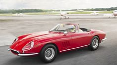 A 1967 Ferrari 275 NART Spider - ultra-rare as only 10 were made - beauty and exclusivity