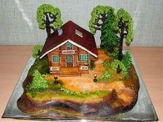 Amazing Cake Art - Amazing Photos Of Mouthwatering Cakes, Amazing Cakes Designs, Cake Decorations, Amazing Cake Photos Crazy Cakes, Unique Cakes, Creative Cakes, Beautiful Cakes, Amazing Cakes, Hansel Y Gretel, Russian Cakes, House Cake, Cake Supplies