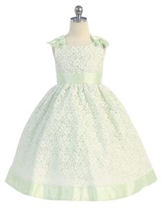 Claudia Girls Dress - PuddlesCollection.com