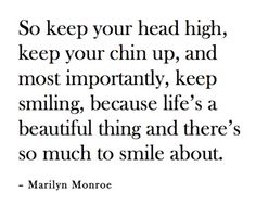 a Marilyn Monroe quote