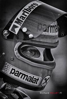 """Tenacity"" © Richard Kelley – Niki Lauda in Watkins Glen, 1978 – Motorsport & F… Racing Helmets, F1 Racing, Drag Racing, Racing Wheel, Classic Trucks, Classic Cars, Grand Prix, F1 Wallpaper Hd, Wallpapers"