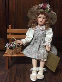 Caroline-Collectible-Porcelain-Doll-by-Pamela-Phillips-in-Box-w-Certificate