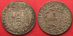 1807 Schweiz - Neuenburg NEUENBURG 1 Batzen 1807 ALEXANDRE BERTHIER Billon…