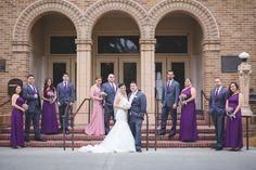 Group Photo | Wedding Party Photos Ideas | Wedding Party Group Poses | Rubidia C Photography