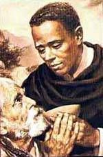 St Martin de Porres aka: St Martin of Charity Dominican Coadjutor Brother Peru ~ 1579-1639 Father: Peruvian nobleman Mother: free slave of Panama Patron saint of Social justice and Interracial harmony Feast Day - November 3