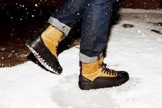These Converse Shoes Have Been Transformed into a Winter Sneaker #shoes trendhunter.com