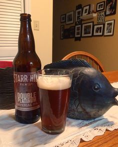 Starr Hill Brewery Double Platinum Imperial IPA
