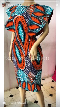 Look no further, here's the complete 2018 Most Creative Ankara Styles And Designs African Print Dresses, African Fashion Dresses, African Attire, African Wear, African Women, African Dress, Ankara Fashion, African American Fashion, African Inspired Fashion