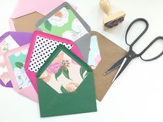 How To Create Fancy Wedding Envelopes & Envelope Liners + 15% Off Berinmade
