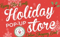 Starting Today through 11/21 - HOLIDAY ONLINE POP-UP STORE ~ A SHOPPING EVENT Nov 17-21, 2020 on Facebook