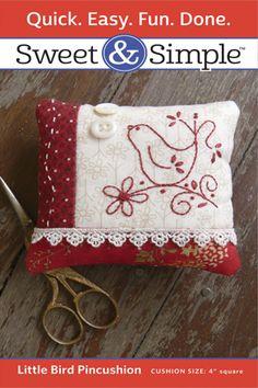Little+Bird+Pincushion+Pattern+Only+TPPS800+