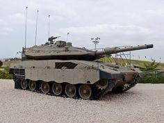 Merkava Mark 4 tank, el carro de combate del ejercito de Israel y de fabricación israelita.