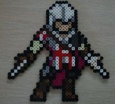 Ezio Auditore Perler beads by DawsonPerlerParlor