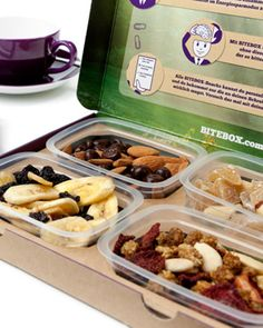 Awesome concept from Germany.  BiteBox - Office Food http://www.infooder.de/?p=91