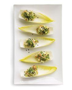 Shrimp and Avocado Salad on Endive Leaves Recipe