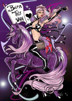 Lady Gaga - Born This Way fan art