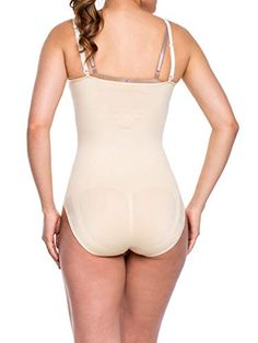546999be6df Miorre Women s Shapewear Seamless Open Bust Body Suit