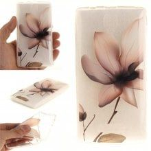 Cover Case for Lenovo A2010 Magnolia Soft Clear IMD TPU Phone Casing Mobile Smartphone
