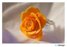 dindesign - ring - rose yellow