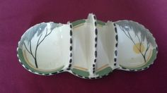 COLLECTABLE BURLEIGH WARE 2 SLICE TOAST RACK WITH PRESERVE AND BUTTER DISH | eBay Dec 2016. GBP9 list.