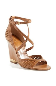 Tory Burch 'Alyssa' Wedge Sandal available at #Nordstrom