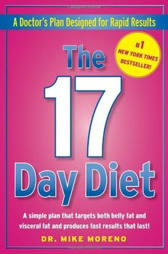 The 17 Day Diet: A Doctor's Plan Designed for Rapid Results.  Lost so much weight and fast on this.  Maintaining my weight loss now!