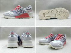 a5ea2ece0ad6d Authentic ASICS TIGER GEL LYTE III 3 WOMENS EUR 36-40 New Shoes White blanc  Pink FREE SHIPPING H7R6L-9676