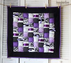 Amethyst puff quilt :) love this! Puff Blanket, Biscuit Quilt, Puffy Quilt, Sewing Crafts, Sewing Projects, Bubble Quilt, Purple Quilts, Fabric Yarn, Couture