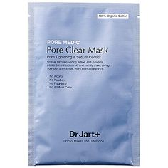 Single-Serving Beauty Essentials | Shrink Pores: The Pore Medic Pore Clear Mask from skincare guru Dr. Jart+, $6 for 1 face sheet, tightens pores and controls any post-workout oil and grime with ingredients like plum extract, which controls sebum, and green tea extract, which reduces inflammation. After 15 (or 30, if you've got the time) minutes, the leftover serum from this paper mask feels extra divine on just-cleansed.