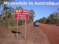 !!!! Told you. Australia tells it like it is....