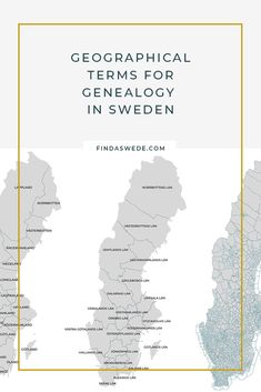 Place names are the basis for Swedish genealogy. Learn about place names in Sweden and start on your family history. #sweden#genealogy #geography #scandinavia #ancestors