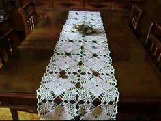 edinir-croche apresenta toalha em croche 'napperon' - visite o blog http://edinir-croche.blogspot.com - apoio fio camila fashion - visite o site http://coats...