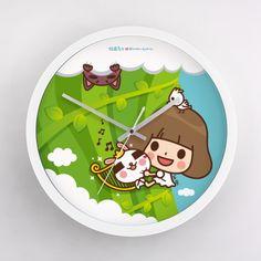 【從前從前】香菇爬高高 - Clock - 香菇妹&拉比豆 | 62Icon
