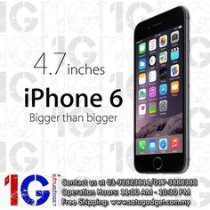 Apple iPhone 6 128GB all colour available with Ready Stocks!  Apple iPhone 6 128GB - RM2599! Key Specs: - 4.7' LED-backlit IPS LCD - Dual-core Typhoon with Apple A8 Chipset - 8MP Rear camera with 1.2MP front camera - Non-removable Li-Po 1810 mAh battery - 1 Year Official Apple Malaysia Warranty  Colour Available: Gold / Grey / Silver Purchase Link: http://www.satugadget.com.my/apple-iphone-6-128gb-my-set  Retail Daily Operation Hours: 11:00AM-10:30PM (Sales) / 11:00AM-9:00PM (Service)…