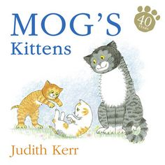 Mog doesn't sleep on the little boy's bed any more. She has two kittens to look after and she has to look after them all the time. Enjoy seeing what the naughty kittens get up to as they grow older and bolder.