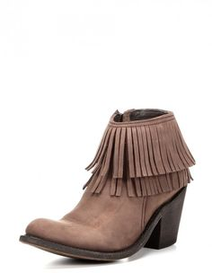 cd013401ac7 Women s Jessa Bootie Short brown fringe bootie that s sure to compliment  any outfit! Independent Boot Company
