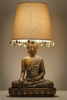 Buddha Table Lamp (Set of 2) #PLL | Spencer's Bedroom | Pinterest ...