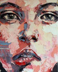 "Saatchi Art Artist thomas donaldson; Painting, ""6-12-14 Anxious"" #art"