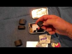 How To: Make an Altoids Tin Pocket Survival Kit. This is what is in the kit I've carried daily for several years.
