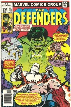 "Defenders #56 (""Val's New York Adventure"") , http://www.amazon.com/dp/B002A6Q2PE/ref=cm_sw_r_pi_dp_jg5Wrb1935PX7"