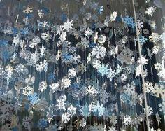 Snowflake Ceiling Garland