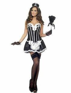 sexy viktorianisches Kostüm