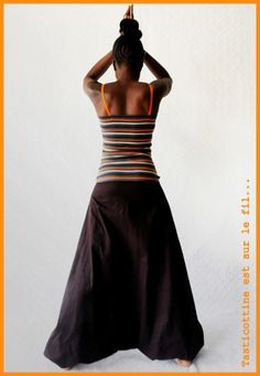 Robe sarouel par Tasticottine - thread