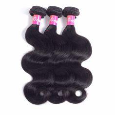 Originea Brazilian Virgin Hair Body Wave 3 bundles Human Hair Extensions For Salon Virgin Human Hair Body Wave Bundles Hair Weft