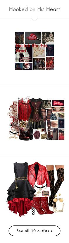 """""""Hooked on His Heart"""" by holographicqueen ❤ liked on Polyvore featuring Disney, CO, Balmain, GET LOST, Diane Von Furstenberg, Marc by Marc Jacobs, Moschino, Forever 21, Amrita Singh and Descendants"""