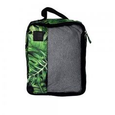 This packing cell is for the jungle lovers out there! Travel Wear, Travel Packing, Travel Style, Packing Cubes, Travel Items, Luggage Straps, Neck Pillow, Travel Accessories, Traveling By Yourself